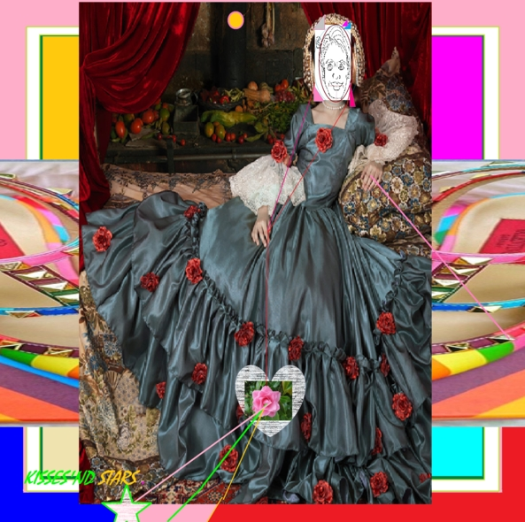 L'INVITATION AU VOYAGE - ROSES TRUE LOVE SENT, DE-COLLAGE,RE-COLLAGE,TG SUPPORT,LOVE(LY)MESSAGES,ROSE FOR ALL, Feminization