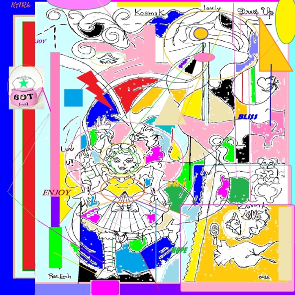kosmik love modulation 1 - concept modern pos comic/x, modern pos art and modulation, Feminization