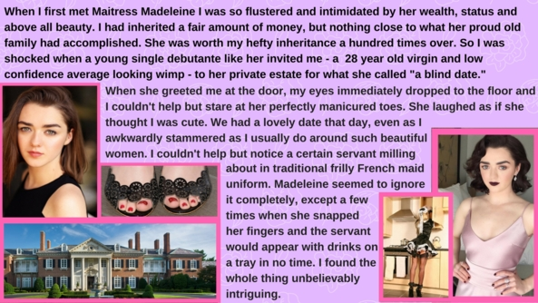 Maitress Madeleine's Diapered Sissy Maids, sissy,maid,humiliation,femdom,mistress, Dominating Mistress Or Master,Dolled Up