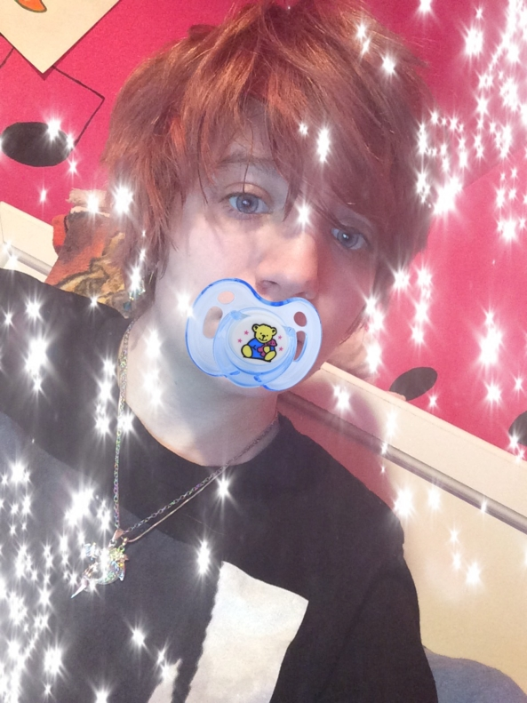 Me 'n My Paci! - The last time I uploaded this, it didn't work. Here's to trying again! Enjoy., ab/dl,femboy,babyfur,pacifier,kawaii,cute, Pansexual Orientation,Adult Babies