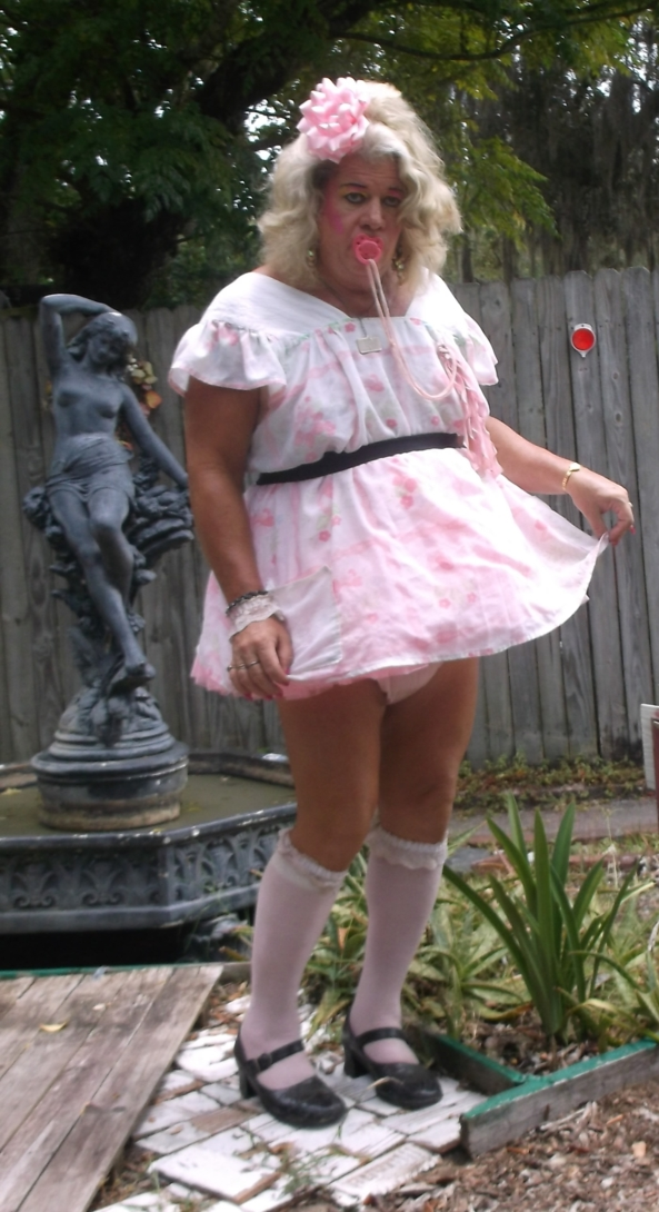 100% sissy  - sissybaby pansy is permantly age regressed sissy that wears diapers 24/7 and lives permanently as a Little Girl, sissy,humiliation,diapers, Adult Babies,Feminization