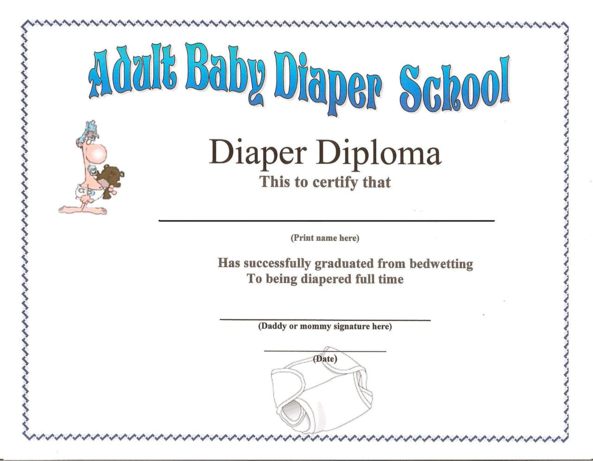 Diaper School - Too Bad that there is not a real
