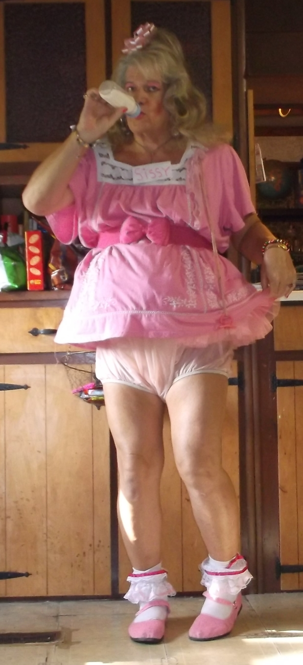 sissy pansy back in much in a more appropriate outfit - sissybaby is happy to be back in his regular clothes (1-3) everyone seems to approve of the shortness of his dress. (4,5) the sissy is told to feed Masters cats (6), the sissy is very afraid of them (7-10), its nap time for pansy, and its only 2pm , sissy,humiliation,diapers,age regression,pacifier, Adult Babies,Feminization,Diaper Lovers