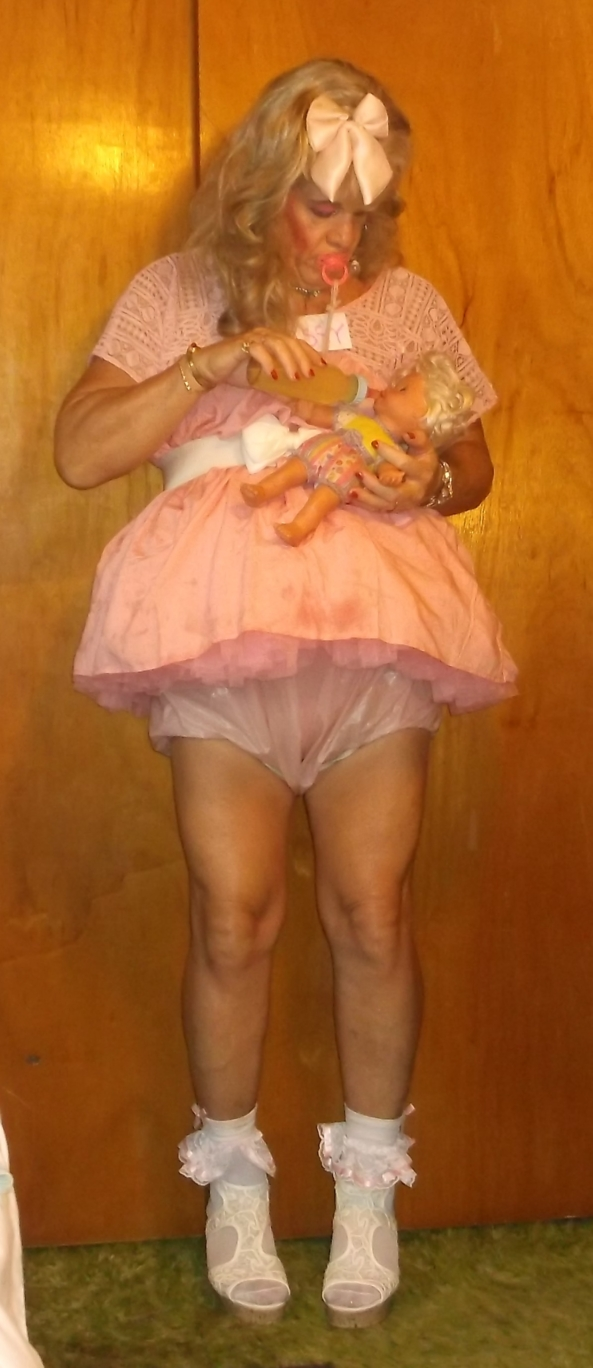 babypansy gets another New Dress - babypansy loves to show of his babygirl/sissy outfits. The sissy now has 30+ baby/little girl dresses , sissy,diapers,humiliation,adult baby, Adult Babies,Feminization,Diaper Lovers,Sissy Fashion