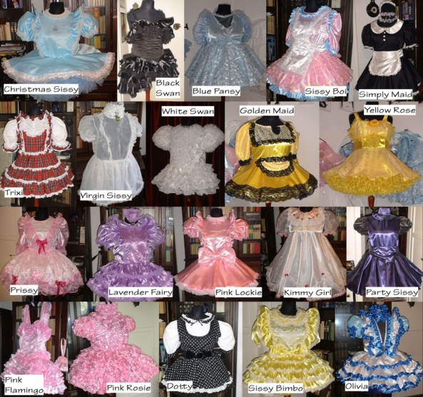 What would be your favorite dress? - Please vote ... :)), sissy dresses, Dolled Up