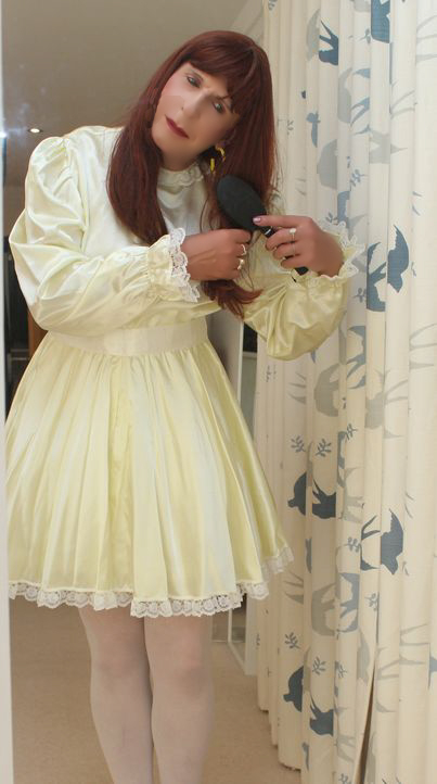 Sissy is getting ready for her date, sissy,pansy,feminization, Dolled Up,Feminization
