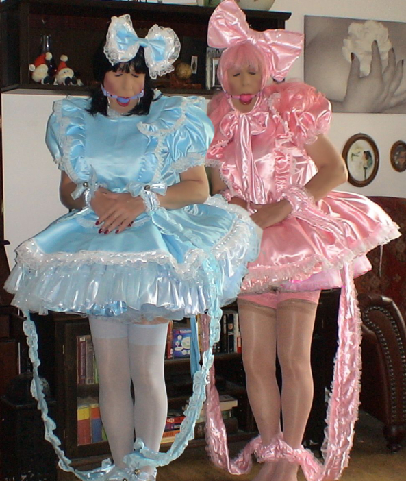 News from the pansy fairy brothers - aren't these two cute sissy bois?, sissy pansy fairy, Sissy Fashion,Bad Boy To Good Girl