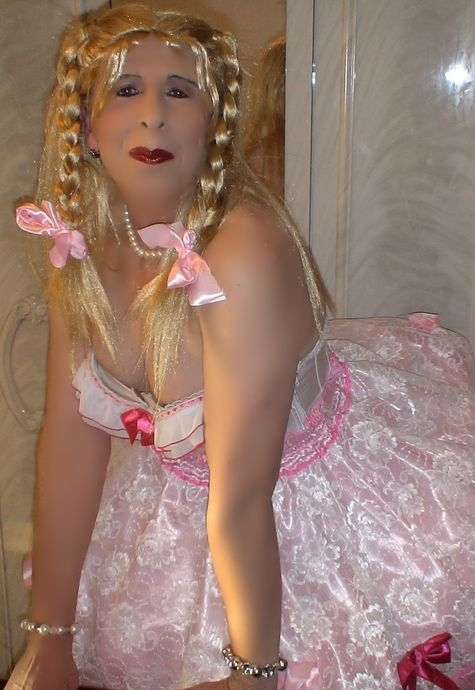 Daily Sissy Photo, sissy pansy fairy princess, Sissy Fashion,Dolled Up