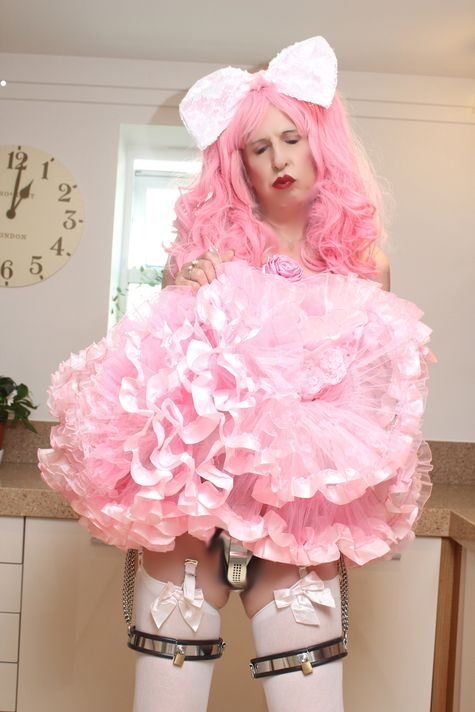 Daily Sissy Photo - pouting sissy fairy, sissy,pansy,fairy, Sissy Fashion,Dolled Up,Bad Boy To Good Girl