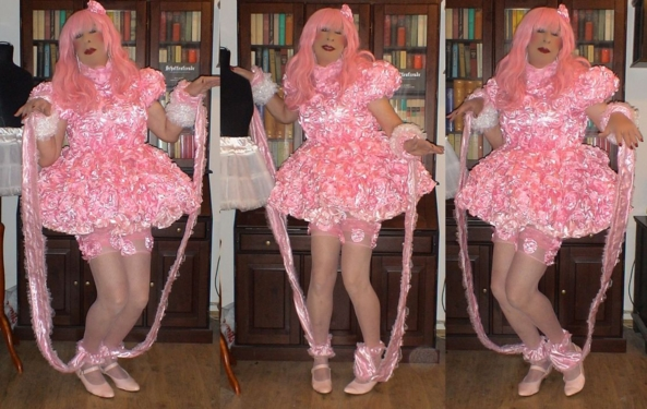 Sissy Twist, sissy,pansy,prissy,chastity,faggot, Feminization,Sissy Fashion,Dolled Up