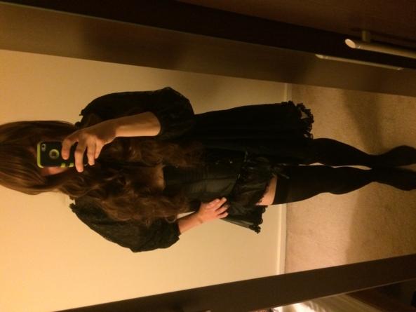 Looovveee black lingerie.xx - Dressed to please and tease!xx, Lingerie,peignoir,stockings., Feminization
