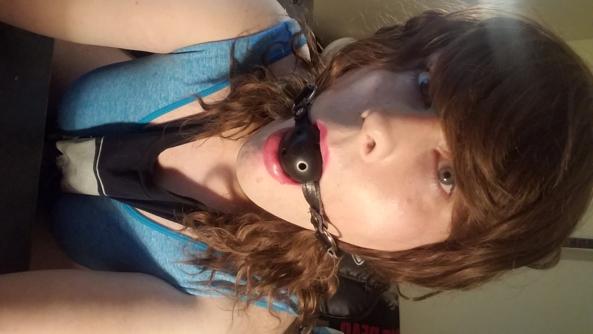 Sissy Jessica - Just a few pics of me, Ball gag,sissy, Feminization,Masterbation,Sissy Fashion,Bondage,Dolled Up