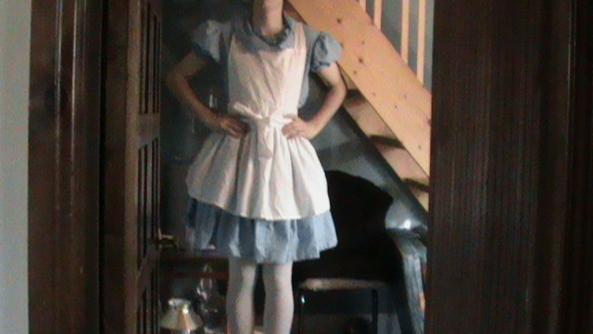TCD20 Alice Dress - My cute Alice in wonderland dress. , Heterosexual sissy, Sissy Fashion,Str8 Orientation
