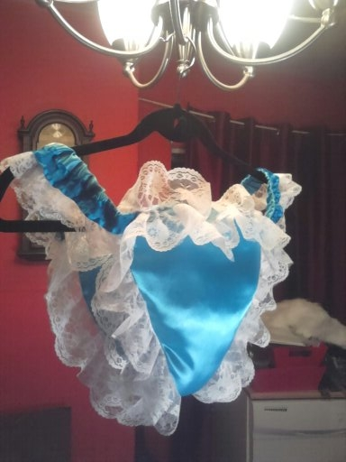 My first pantie i made  - its like a diaper,its padded , fashion/diaper/doll/pantie, Sissy Fashion,Diaper Lovers