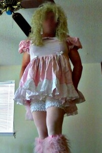 Sissy Cindy - lil sissy dress, lis sissy pink dress, Dolled Up