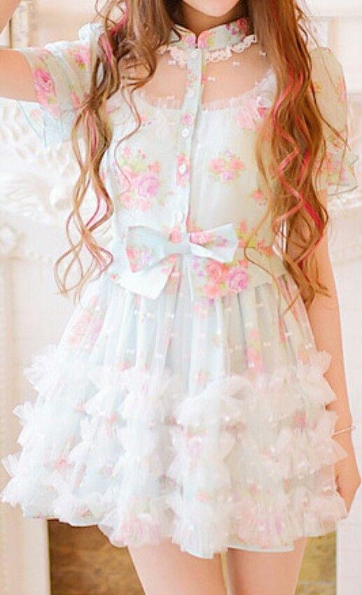 My sunday Dress, SissyDress, Sissy Fashion,Dolled Up