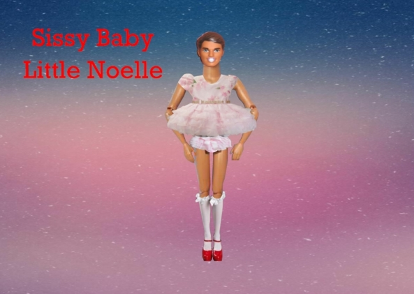 A  Custom Made Doll For Little Noelle - Doll Making Service, Doll Making,Image Alteration,Sissification,Babyfication, Adult Babies,Sissy Fashion,Dolled Up