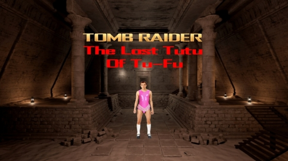 An Old Idea Remade & Improved 2of2: Sissy Tomb Raider - A Sissy Version Of Lara Croft, Tomb Raider,sissification, Feminization,Sissy Fashion,Dolled Up