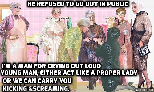 Sissy Forced to Go Public - With six of them he could not resist, feminization femdom, Feminization,Dominating Mistress Or Master,Sissy Fashion,Bad Boy To Good Girl,Dolled Up