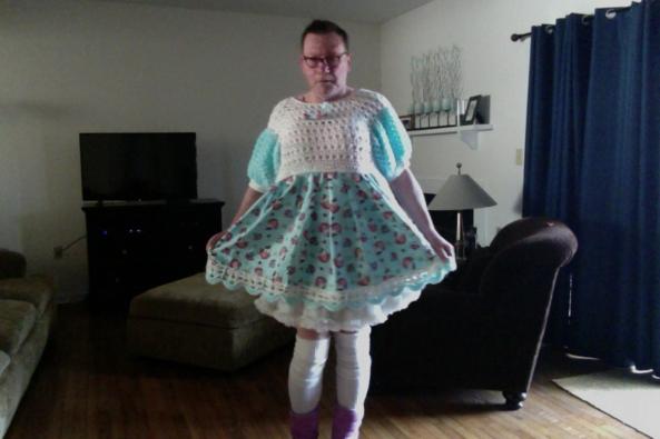 Hello Kitty Sissy! - sissy Cindy, sissy,faggot, Dolled Up