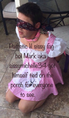 Sissy Boi Caught, gingham,pink,humiliation,sissy humiliation,exposed,caught, Feminization,Sissy Fashion
