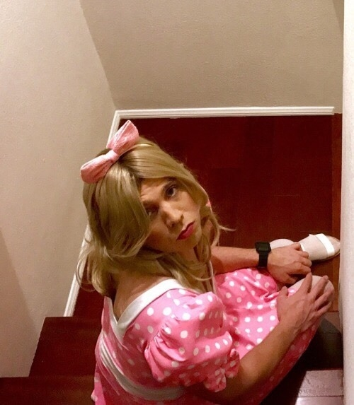 Sissy Marky can no longer claim he is a man - I want everyone to know that I'm not a man. I would much rather wear my little panties and cute little girly dresses and tights. I want to be an obedient little sissy who gets humiliated. I want to be sent out in public for everyone to see., sissy,Sissy Marky,effeminate,girlyboi,pantywaist,sissy humiliation, Feminization,Bad Boy To Good Girl,Sissy Fashion,Dolled Up