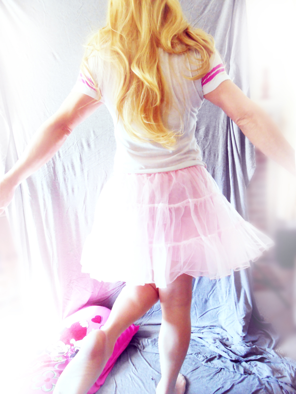 Pink pink pink, pink sissy girl, Dolled Up,Feminization