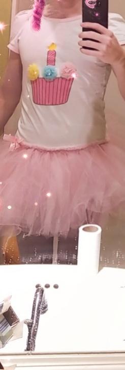 Little ballerina , tutu,onesie,tights,ballerina,cupcake,cute,princess, Feminization,Sissy Fashion,Fairytale,Dolled Up