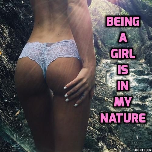 Outdoors Fun - I have always loved being a sissy girl outdoors in the forest, sissy, Feminization