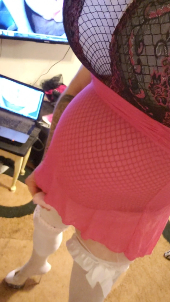 Big Tit shemale  - Trying on wifees lingerie , Sissy,crossdressing,shemale,huge tits,fake boobs,high heels,nylons , Feminization,Sissy Fashion,Bisexual Orientation,Gay Orientation,Breast Implants,Bad Boy To Good Girl