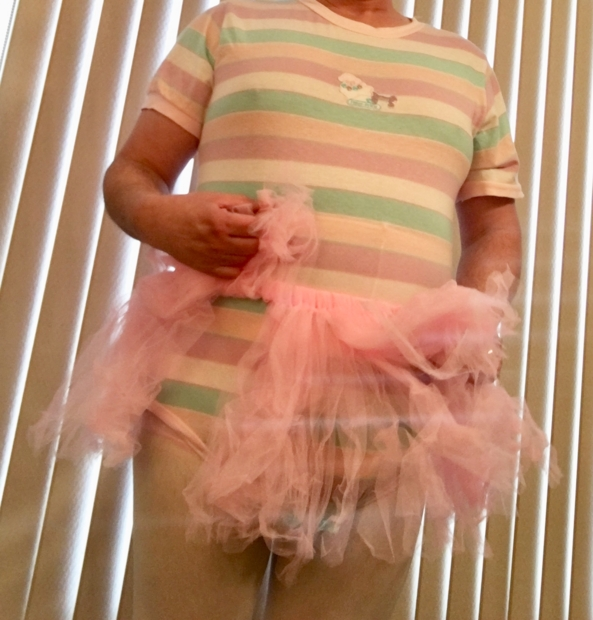 Tutu, onesie, tights. - I have my tutu, onesie, tights, and of course cloth diapers and plastic panties. , Diapers,tutu,onesie,tights, Adult Babies,Diaper Lovers,Sissy Fashion