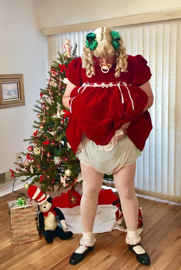 A MERRY SISSYMAS - Christmas sissy fun, Christmas , Adult Babies,Diaper Lovers,Sissy Fashion