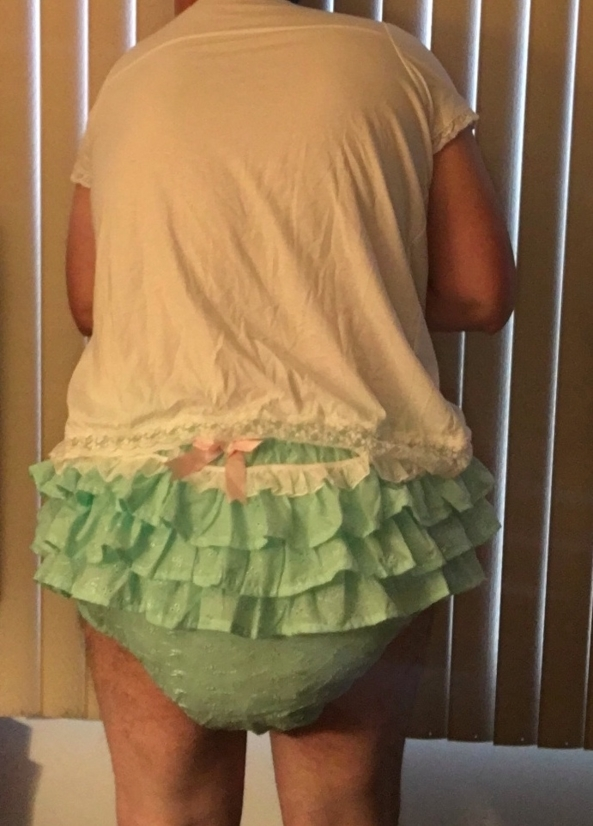 BABY PANTS - Frilly panties, and some plain transparent yellow., Diapers,plastic pants,sissy panties,frilly panties, Adult Babies,Sissy Fashion,Diaper Lovers