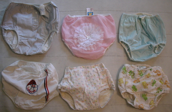 VINTAGE BABY PANTIES - Some items I've collected over the years., Plastic panties , Adult Babies,Sissy Fashion,Diaper Lovers