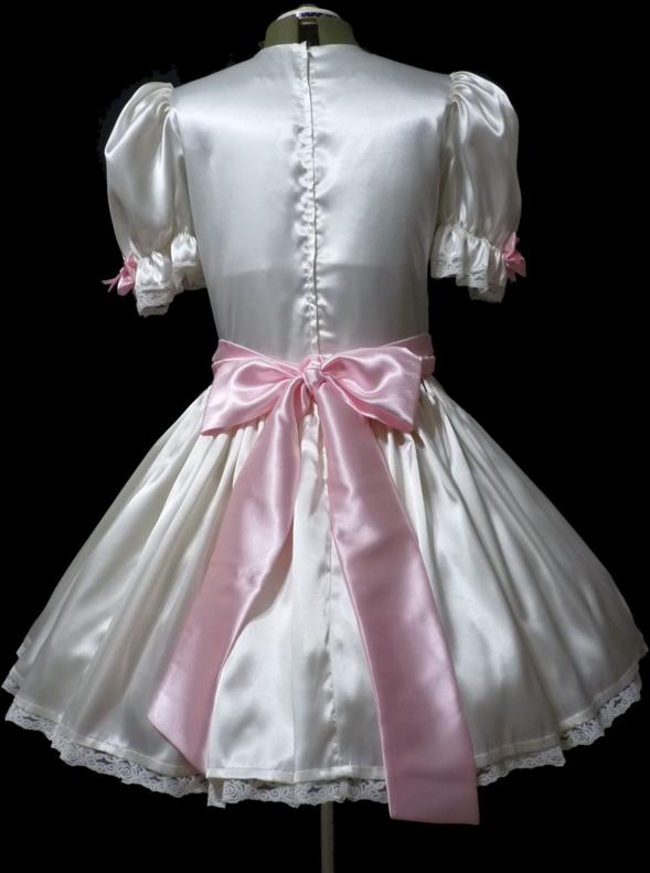 Satina, Satine, My wardrobe, satin silk sissy ribbon petticoat dress blouse girlie, Feminization,Slow Change,Hormones,Dolled Up,Mind Altering,Sissy Fashion