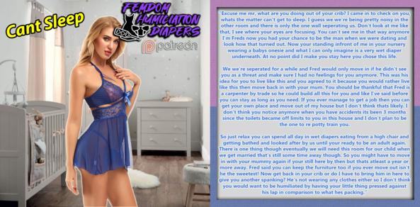ABDL Captions #1 , Sissy,Diaper,ABDL,Caption, Adult Babies,Feminization,Diaper Lovers