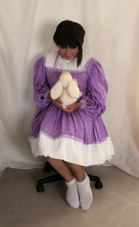 One of many dresses I designed and made - Bunny Hope and I, Pixie Snowdove, Sex Reassignment Surgery