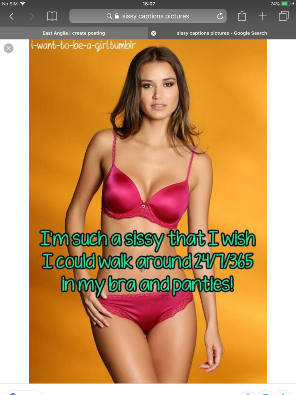 Sissy goals an captions I live and swear by - Some of the things I believe every sissy should aim for, sissylife, Feminization