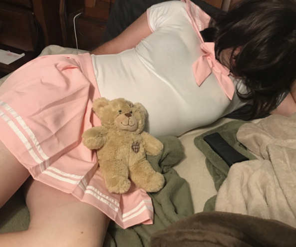 He and my teddy , Abdl,lg, Adult Babies